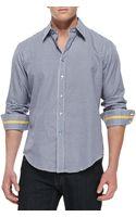 Robert Graham Albano Houndstooth Sport Shirt - Lyst