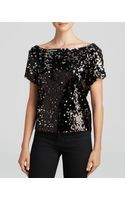Milly Tee - Sequin - Lyst