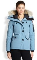 Canada Goose Fur Trimmed Downfilled Montebello Parka - Lyst