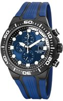 Citizen Mens Chronograph Ecodrive Scuba Fin Blue Rubber Strap 48mm 02l - Lyst