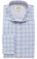 Ted Baker Classic Fit Plaid Dress Shirt - Lyst
