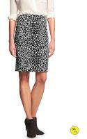 Banana Republic Womens Factory Sleek Pencil Skirt  - Lyst
