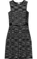 M Missoni Twotone Knitted Cottonblend Dress - Lyst