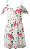 Joie Floral Print Dress - Lyst