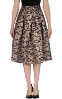Roberto Collina 34 Length Skirt - Lyst