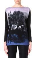 Stella McCartney Forest-print Top - Lyst