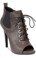 Nine West Elekra Booties - Lyst