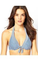 Esprit Manly Beach Stripe Flexiwire Bikini Top - Lyst