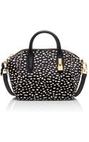 Tory Burch Padlock Small Convertible Satchel - Lyst