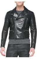 Belstaff Leather Biker Jacket - Lyst