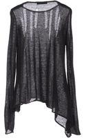 Pierre Balmain Long Sleeve Sweater - Lyst