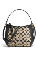 Coach Legacy Top Handle Bag in Printed Signature Fabric - Lyst
