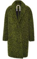 No 21 Marian Wool-blend Knit Coat - Lyst