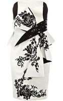 Karen Millen Oriental Embroidery Dress - Lyst