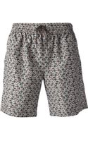 Dolce & Gabbana Car Print Swim Shorts - Lyst