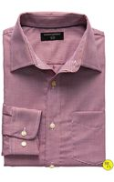 Banana Republic Factory Slim Fit Non Iron Houndstooth Shirt   - Lyst