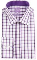English Laundry Ombre Check Woven Dress Shirt - Lyst