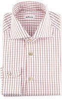 Kiton Multi-check Dress Shirt - Lyst