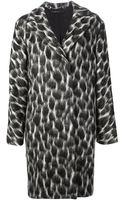 Gucci Leopard Print Overcoat - Lyst