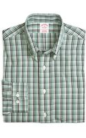 Brooks Brothers Supima Cotton Regular Fit Noniron Tonal Check Sport Shirt - Lyst