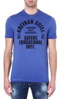 DSquared2 Varsity Print T-shirt - Lyst