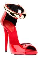 Giuseppe Zanotti Metallic Detail Stiletto Sandal - Lyst