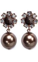 Joomi Lim Spike Pearl Earrings - Lyst