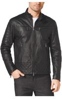 Michael Kors Quiltedleather Jacket - Lyst