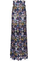 Mary Katrantzou Poppycon Lace Skirt - Lyst