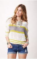 Free People Stripe Pullover - Lyst