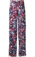 Saloni Wide Trousers - Lyst