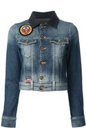 Diesel Denim Jacket - Lyst