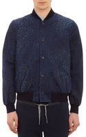 Paul Smith Leopardprint Bomber Jacket - Lyst