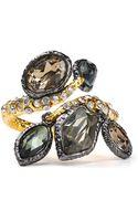 Alexis Bittar Pyrite  Crystal Ring - Lyst