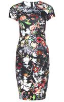 McQ by Alexander McQueen Printed Stretch Jersey Dress - Lyst