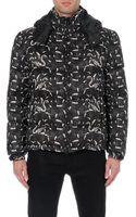 Marcelo Burlon Snake-print Quilted Jacket - Lyst