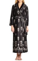Oscar De La Renta Sleepwear Midnight Jewel Long Robe - Lyst