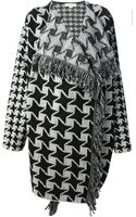 Stella McCartney Oversize Knitted Coat - Lyst