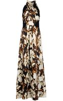 Philosophy di Alberta Ferretti Long Dress - Lyst