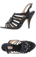 Kenzo Highheeled Sandals - Lyst