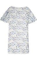Paul & Joe Short Sleeve Printed Silk Gauze Dress - Lyst