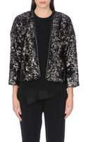 10 Crosby Derek Lam Faux-fur Cropped Jacket - Lyst