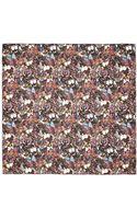 Valentino Butterfly Print Silk Chiffon Scarf - Lyst