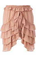 Isabel Marant Ruffle Skirt - Lyst