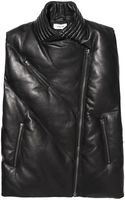 Helmut Lang Quilted Leather Vest - Lyst