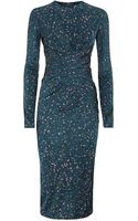 Issa Alison Wrap Dress - Lyst