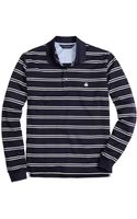 Brooks Brothers Original Fit Longsleeve Stripe Polo - Lyst