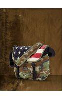 Denim & Supply Ralph Lauren Camo Flag Messenger Bag - Lyst