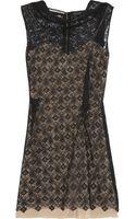Roland Mouret Zonda Lace Mini Dress - Lyst