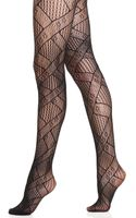Jessica Simpson Wallpaper Net Tights - Lyst